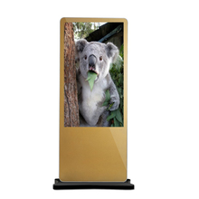 Customized size high quality Player 65 inch lcd monitor floor standing digital signage advertising kiosk touch