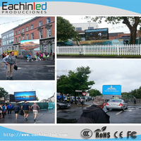 P6 outdoor led display board Electronic LED display/Advertising LED screen