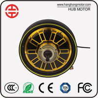 2000W Brushless Electric Motorcycle Hub Motor 48V 72V