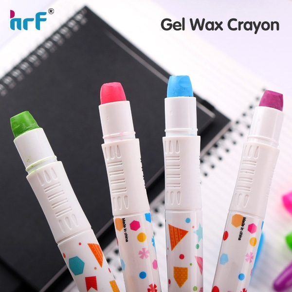 HR-Y391Twistable gel crayon with solid color for kids