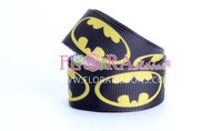 Boy Style of Cartoon Character Logo Ribbon with Heat Transfer Printing Craft