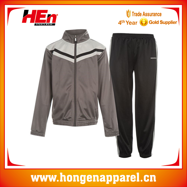 White/Grey Polyester Basketball Sportswear Japanese Track Suits With Lining