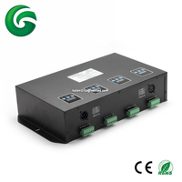 Independent 4 Groups 16 channel DMX LED Controller wireless for available