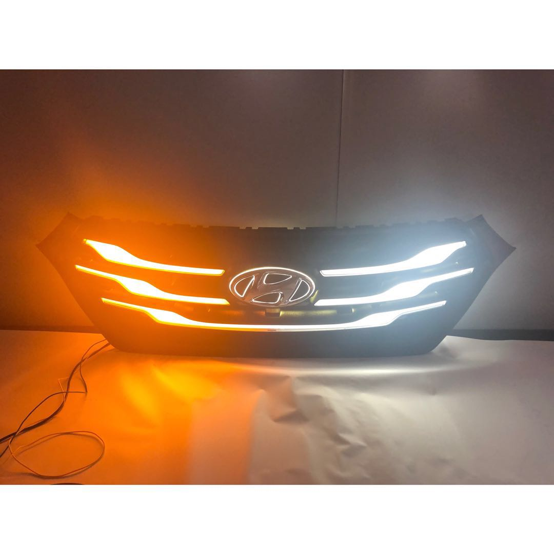 New design grille lamp front turn signal lamp fog lamp for creta IX25 2018 2019