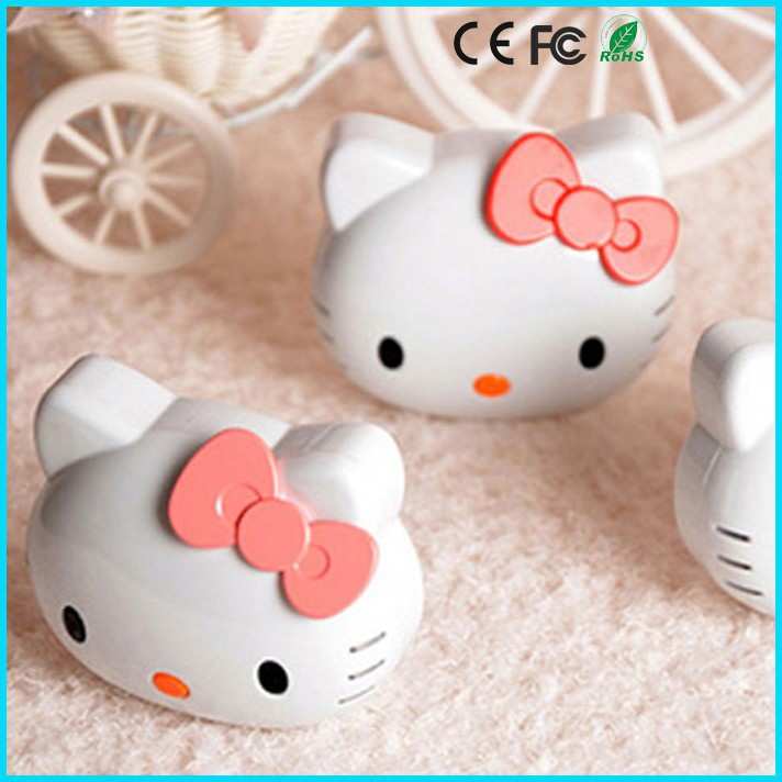 Lovely Cartoon usb power bank 8000mAh kitty cat