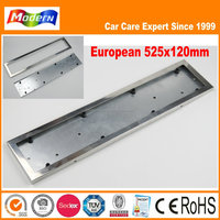 European Stainless steel car license plate frame