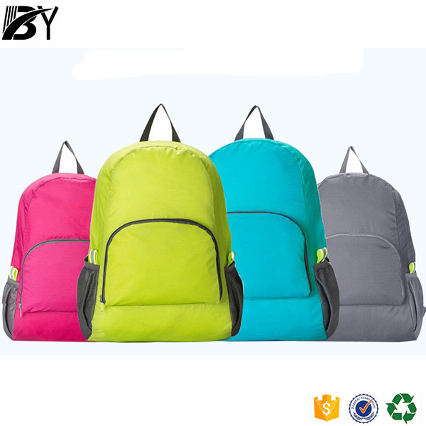 2016 popular style promotion Waterproof foldable outdoor backpack