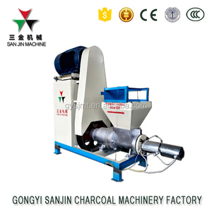 Rice husk/sawdust charcoal briquette making machine