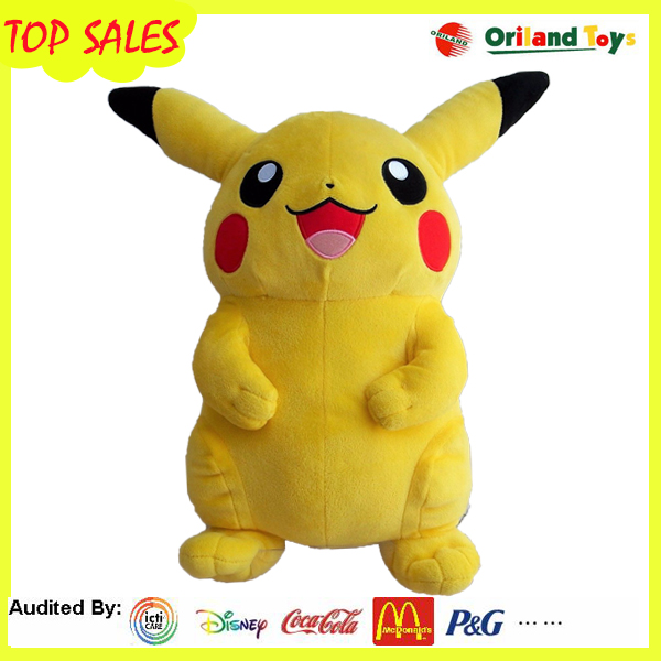 32in.Big Digimon Pikachu Pokemon Plush Giant Large Stuffed Toy Doll gift Pillow