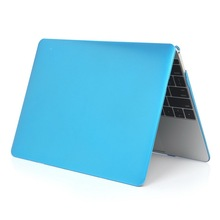 Metal oil coated hard pc shell laptop cover case for Macbook Pro with Retina display 13 inch, blue color