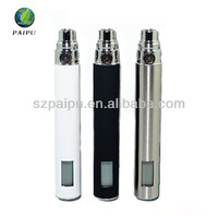 2013 shenzhen hot sale ecig battery vari wattage T4 electronic cigarette battery LCD display