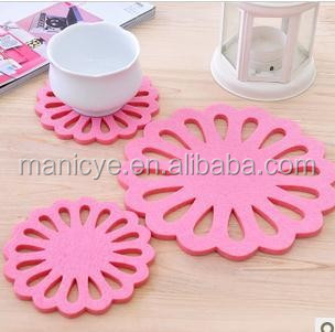 Non-woven Fabric For Laser Cutting Cup Coaster