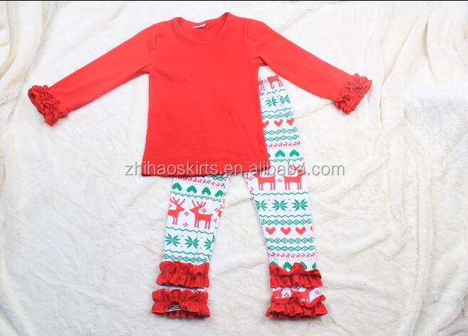 new arrvial baby girls christmas outfit newborn baby cotton clothes