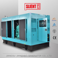 Low fuel consumption with Cummins Stamford 500kva 400kw silent generator
