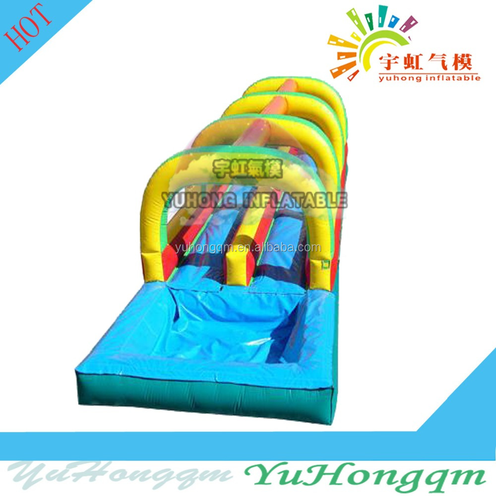 Summer 2017 newly inflatable water slide and swimming pool