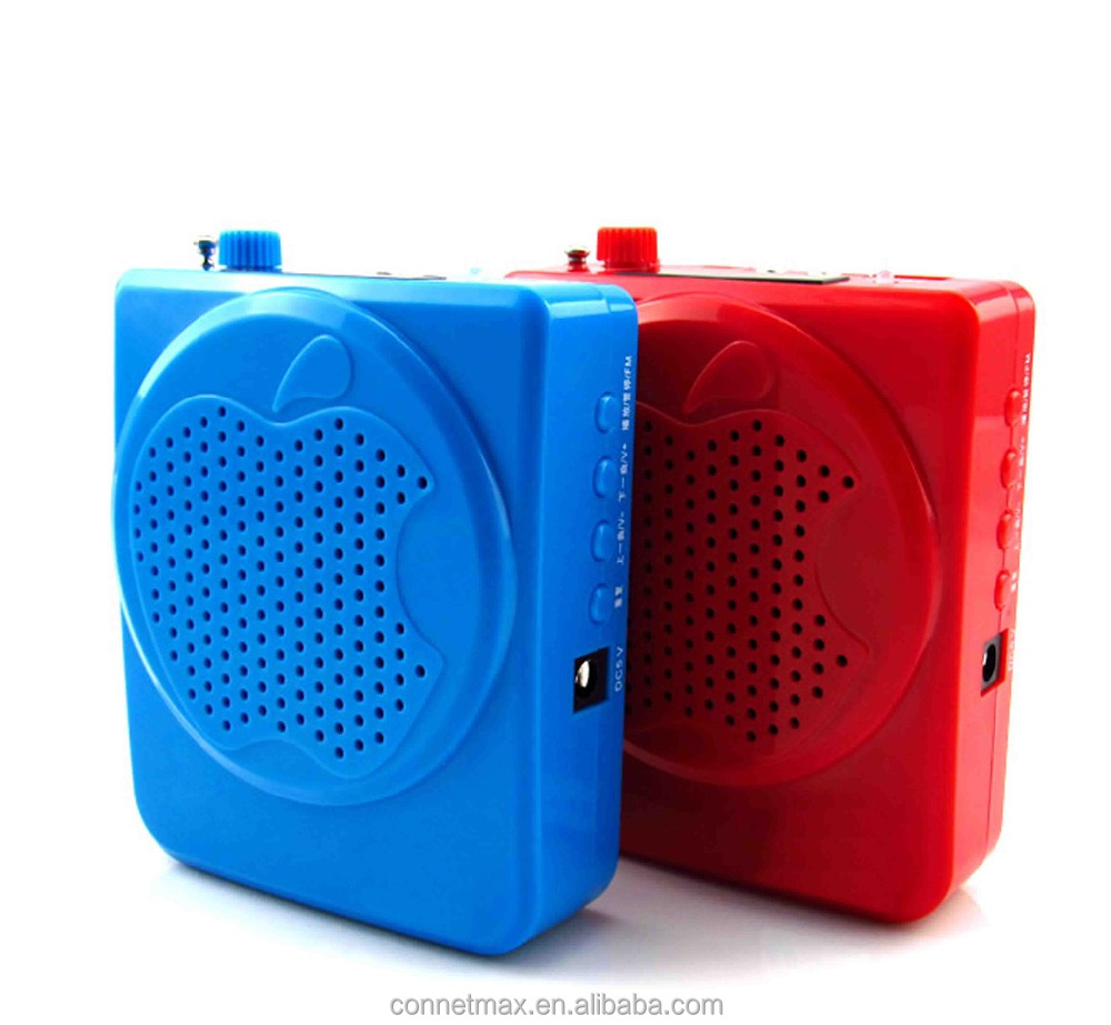 High Power 18650 <strong>Battery</strong> USB TF FM Radio Loudspeaker Teacher Voice Amplifier Booster Megaphone Speaker