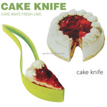 Plastic one-piece Cake Cutter Cake server Knife Cutting Clip Cake Pie Slicer Knife Pizza Clips cutting tools