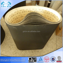 Fine Silicon carbide paper base sanding belts C78F for wood, floor