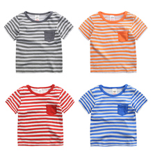 Kids Tops Manufacturers New Model Shirts Boys 100% Cotton T-shirt