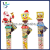 Festive Stanta and SpongeBob candy tube (santa & SpongeBob)