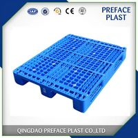 1200x1000 mm durable heavy duty anti-slip steel reinforced rackable plastic pallets for sale