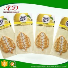 New Products Customized Tree Car Air Freshener with own logo