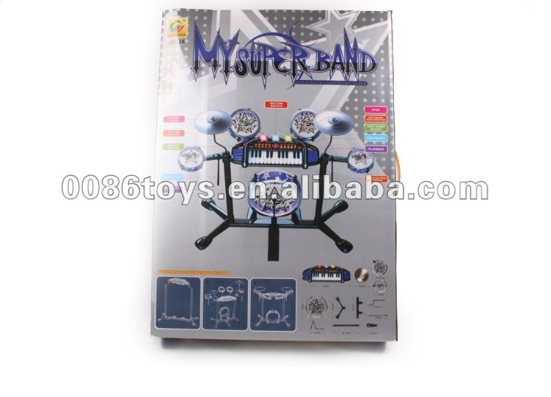 Electronic jazz band set toys