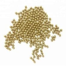 Solid 0.5mm 1mm brass / copper balls with high quality