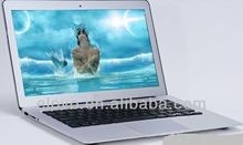 Lowest cost Wholesale 13.3 inch two core arm netbook WM8850 Android 4.2 OEM laptop