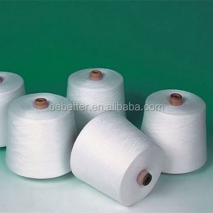 VIRGIN 100 PERCENT POLYESTER SPUN YARN 20/2 20/3 BRIGHT FIBER TOP QUALITY POLYESTER YARN FACTORY