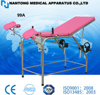 Portabl examination table/simple examination female bed/exam table with CE/ISO