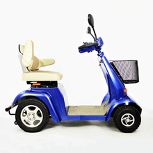 New design four wheels disabled electric mobility scooter for adults