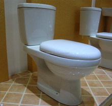 New Top Selling Custom Color Toilet Set, Type Wc Toilet , Wash down Two Piece Toilet Price