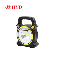 HYD80098 English amazon outdoor lighting USB rechargeable COB led flood light camping lantern stand portable LED work light