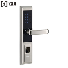 The lastest cheap outdoor double sided smart biometric fingerprint door lock
