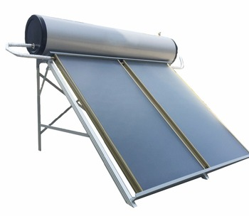 Gold Supplier Blue Titanium Flat Plate Solar Collector, Solar Water Heater Price