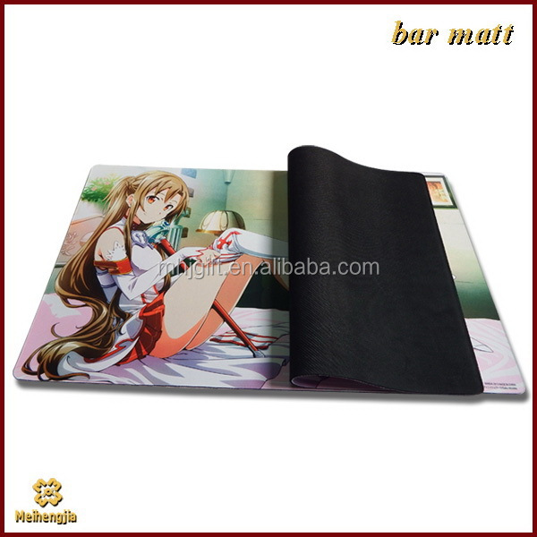 China gold manufacturer top sell neoprene bar mats