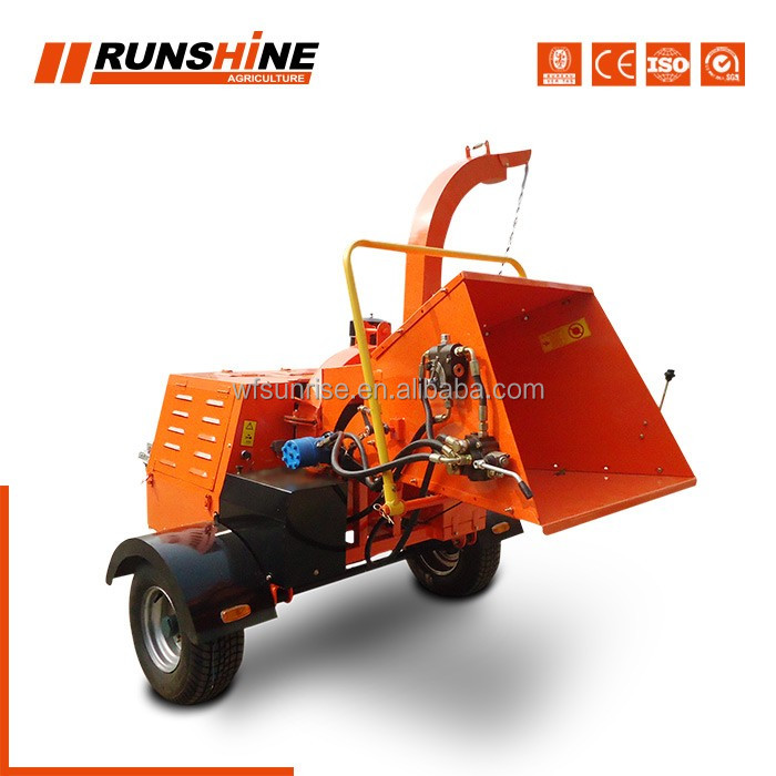 With 20 years experience factory direct tree branch crusher machine