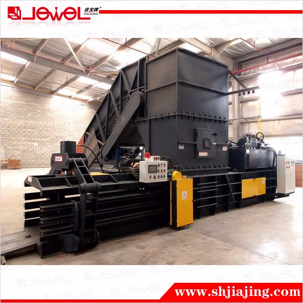 Horizontal Fully Automatic Hydraulic Baler for Logistic Centre