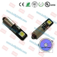 Latest version canbus BAX9S,light h6w led,h6w led smd