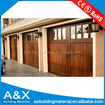 USA Market Wood Garage Door