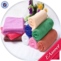 80% polyester 20% polyamide microfiber towel with printed logo/microfiber embroiderey bath towel cleaning towel