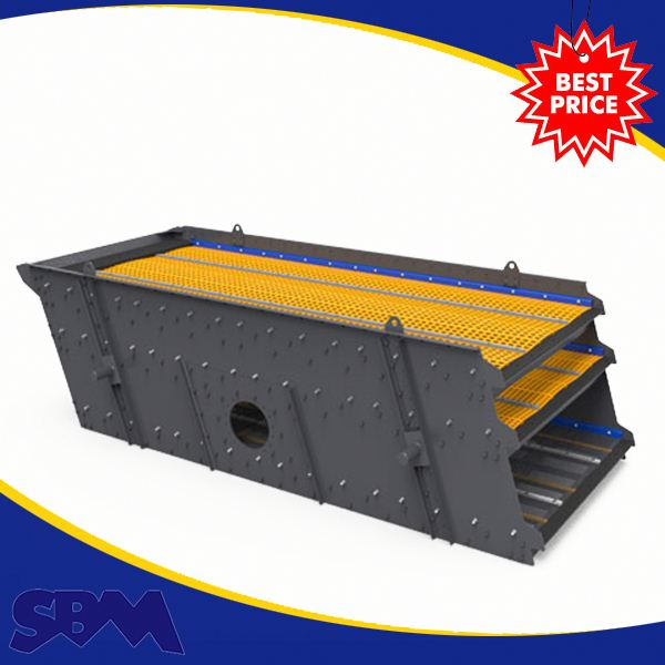 Minerals application 3YA1860 model 3 layers stone+vibrating+screen with capacity 50-350 t/h
