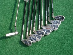 2016 hot sale golf iron club with graphite shaft