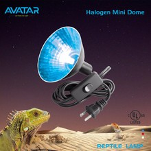 UL pet reptile basking lamp mini dome light uvb 5.0 terrarium clamp uv led lamp price for reptiles