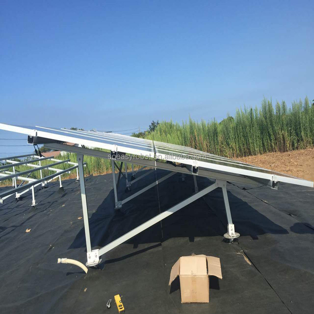 Factory hot sale Aluminium solar panel pole mounting system / Solar Racking System/PV mounting system with high quality