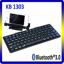 Hot sale ultra slim Bluetooth keyboard for ipad&laptop