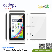 ZXS-10-W 10.1Inch Android Tablet, A33 ATM7029B Quad Core Android 4.4 Dual Camera Mini Tablet Factory