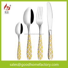 stainless steel cutlery sets flatware set children stainless steel cutlery set