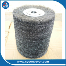 Mechanical spiral roller steel wire Brushes